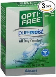 best contact solution